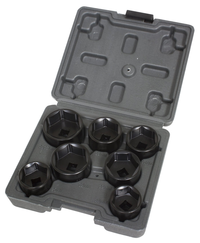 Lisle 13270 LOW PROFILE FILTER SOCKET SET, 7PC