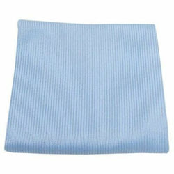 SM Arnold 28-859 16x16 Blue Microfiber Glass Towel 290GSM