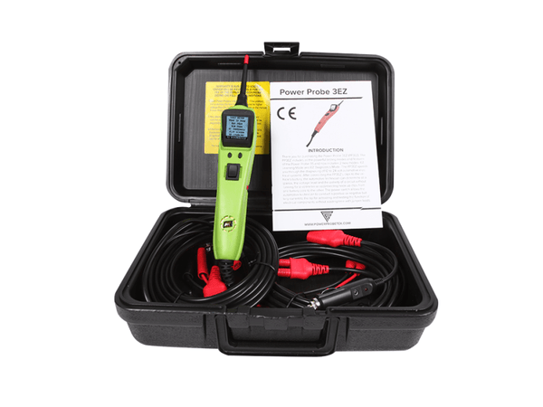 Power Probe PP3EZGRNAS 3EZ w/ Case & Accessories Green