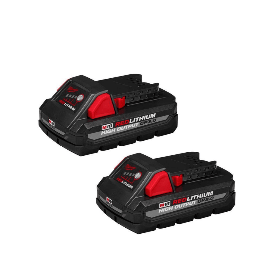 Milwaukee 48-11-1837 HIGH OUTPUT CP 3.0AH Battery (2-Pack)