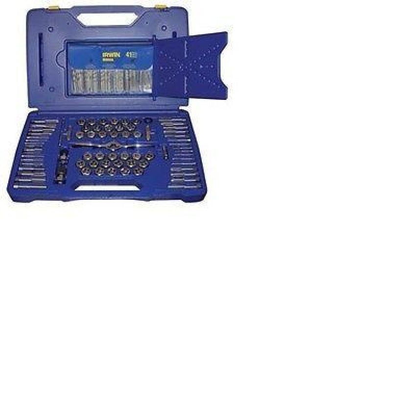 Irwin Hanson 116 Piece Tap / Die / Drill Deluxe Set w/ PTS Handle 1813817
