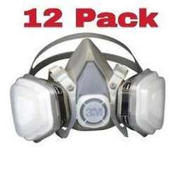 3M 12 Pack Dual Cartridge Respirator Assembly Organic Vapor / P95 Medium 7192