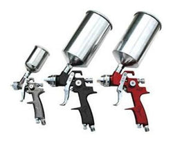 ATD 9 Piece HVLP Spray Gun Set with Paint Gun Filter 6900A