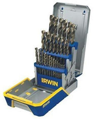 Hanson 29 Piece Industrial Drill Bit Set Case Turbomax 3018006B
