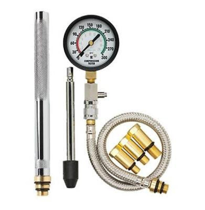 "Equus Innova 7 Piece OHC Compression Tester Plus Kit 2 1/2"" Dial 3615"