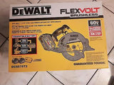 FLEXVOLT 60-Volt MAX Li-Ion Cordless Brushless 7-1/4 in. Circular Saw DCS575T2