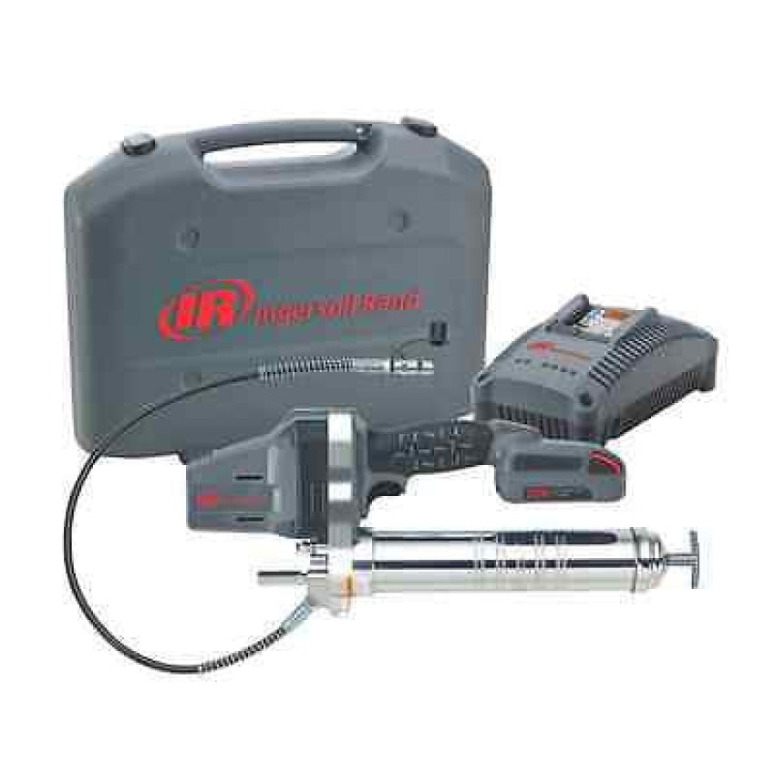 Ingersoll Rand 20 Volt Grease Gun Kit With Battery and Charger IR LUB5130-K12
