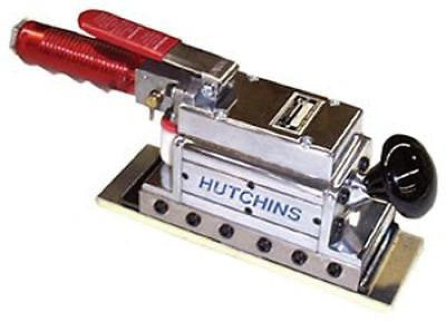 HUTCHINS Hustler II 2 Cylinder Twin Drive Mini Straight Line Air Sander 2023