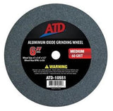 "ATD  Replacement 6"" Medium Grit Grinding Wheel 10551"