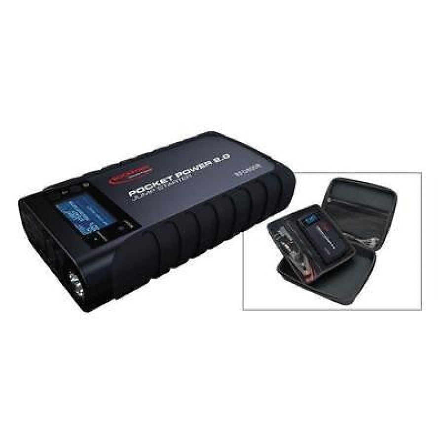 Rockford Pocket Power 2.0 Mini Jump Starter 15000mAh 200/500 Crank Amps 8008