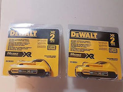 Dewalt 2 x 20V Volt MAX Compact XR Lithium Ion Battery Pack DCB203