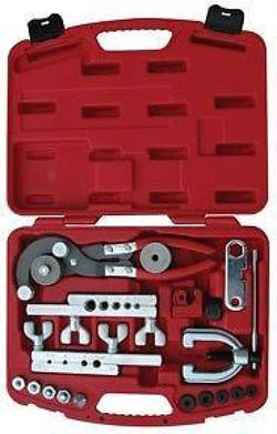 ATD Master Flaring & Tubing Tool Set Makes ISO Bubble Flares 5478