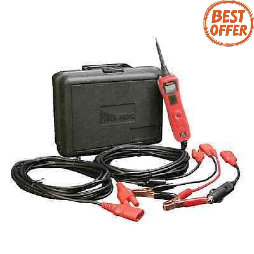 Power Probe III 12 - 42 V Lead Tester with Case Red PP319FTC