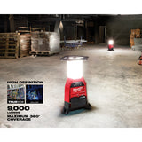 MIlwaukee 2150-20 M18 ONE-KEY RADIUS Site Light and Charger