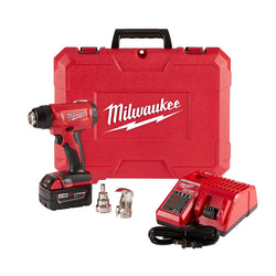 Milwaukee 2688-21 M18 Compact Heat Gun Kit W/(1) 5.0Ah Batt, Charger & Case