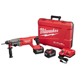 "Milwaukee 2713-22HD M18 FUEL 1"" SDS Plus Rotary Hammer D-Handle Kit w/ 9Ah Batteries"