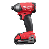 "Milwaukee 2753-22CT M18 FUEL 1/4"" Impact Driver Kit W/(2) 2Ah Batteries, Charger & Case"
