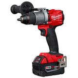 "Milwaukee 2999-22 M18 FUEL 1/2"" Hammer Drill & SURGE 1/4"" Impact Driver Kit & 8.0Ah Battery"