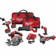 Milwaukee 2896-26 M18 FUEL 6 Tool Combo Kit w/2 5ah Batteries & Charger