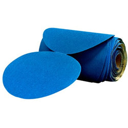3M Stikit 36206 Blue Abrasive Disc Roll  6 in 180 Grade