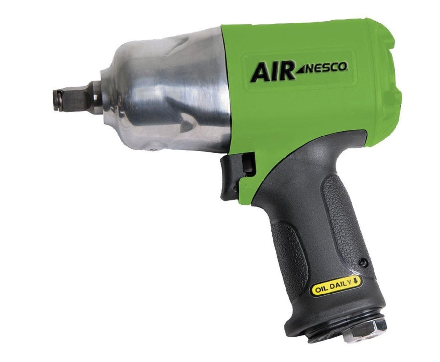 "NESCO 746XLTNG 1/2"" Green Composite Impact Wrench Green Variable Speed"