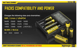 Nitecore D4 4 Channel Digital Battery Charger