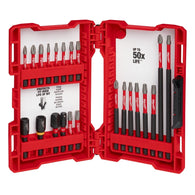 Milwaukee Shockwave Impact Duty Driver Bit Set (22-Piece) 48-32-4016