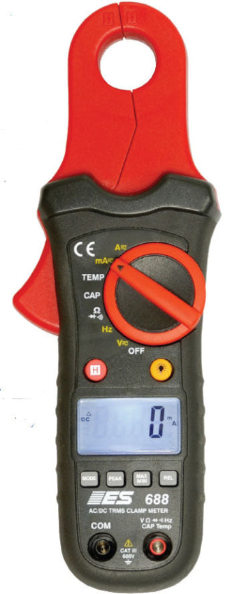 Electronic Specialties True RMS Low Current Clamp Meter ESI-688