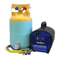 Mastercool 69400-CON Mini Twin Contaminated Refrigerant Recovery Machine R134a /