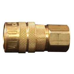 "Milton 715 (Single) 1/4"" FNPT Female M-Style KWIK-CHANGE Coupler"