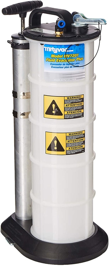 Mityvac MV7201 2.3 GAL / 8.8 L Fluid Evacuator Plus Extract and Dispense