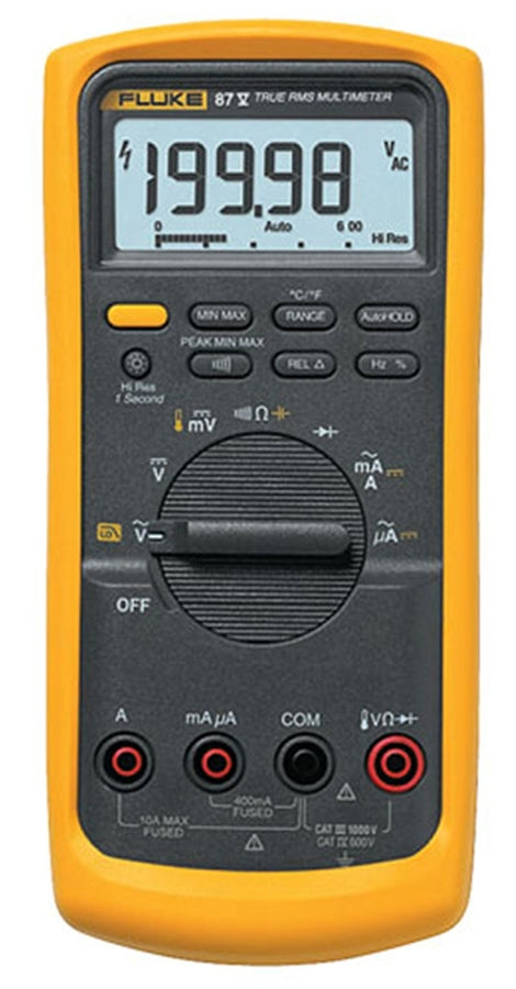Fluke 87-5 Industrial True-rms Multimeter with Temperature