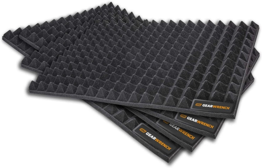 Gearwrench 83370 4 Piece Trap Mat Universal Tool Drawer Liners