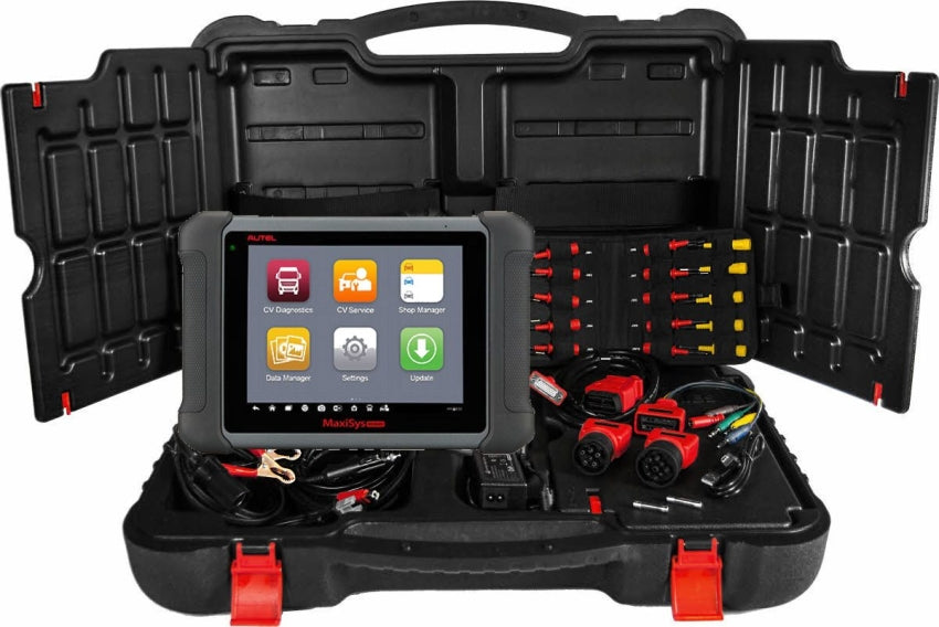 Autel MaxiSys Heavy Duty Commercial Vehicle Service Tablet MS906CV