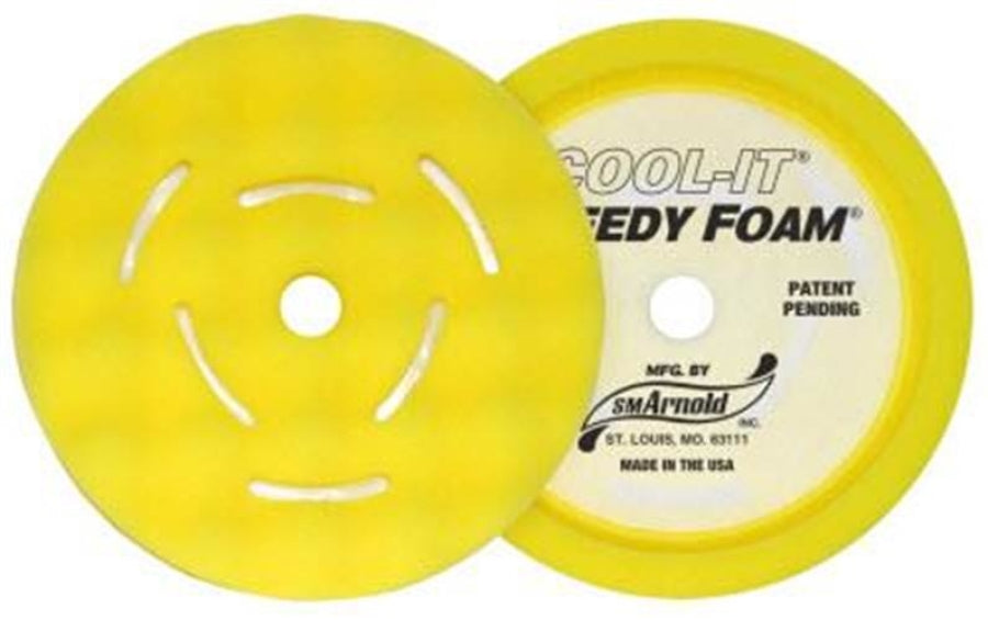 SM Arnold SPEEDY FOAM® - COOL IT® Waffle Pads - 50 PPI Buffing  44-468