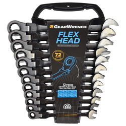 GearWrench 9901DBE Black Edition 12pc Metric Flex Combination Wrench Set