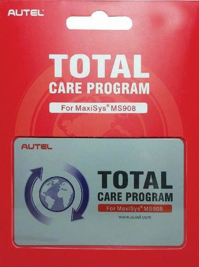 Autel 1 Year Total Care Program Card for MaxiSys MS908 MS908-1YR