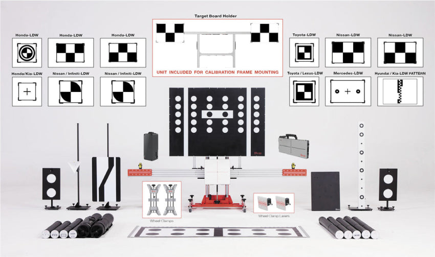 Autel ADAS Complete Frame & Target Calibration Package- ALL SENSORS