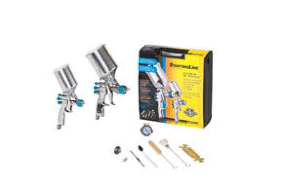 DeVilbiss StartingLine HVLP Gravity Spray Gun & Touchup Kit 802342