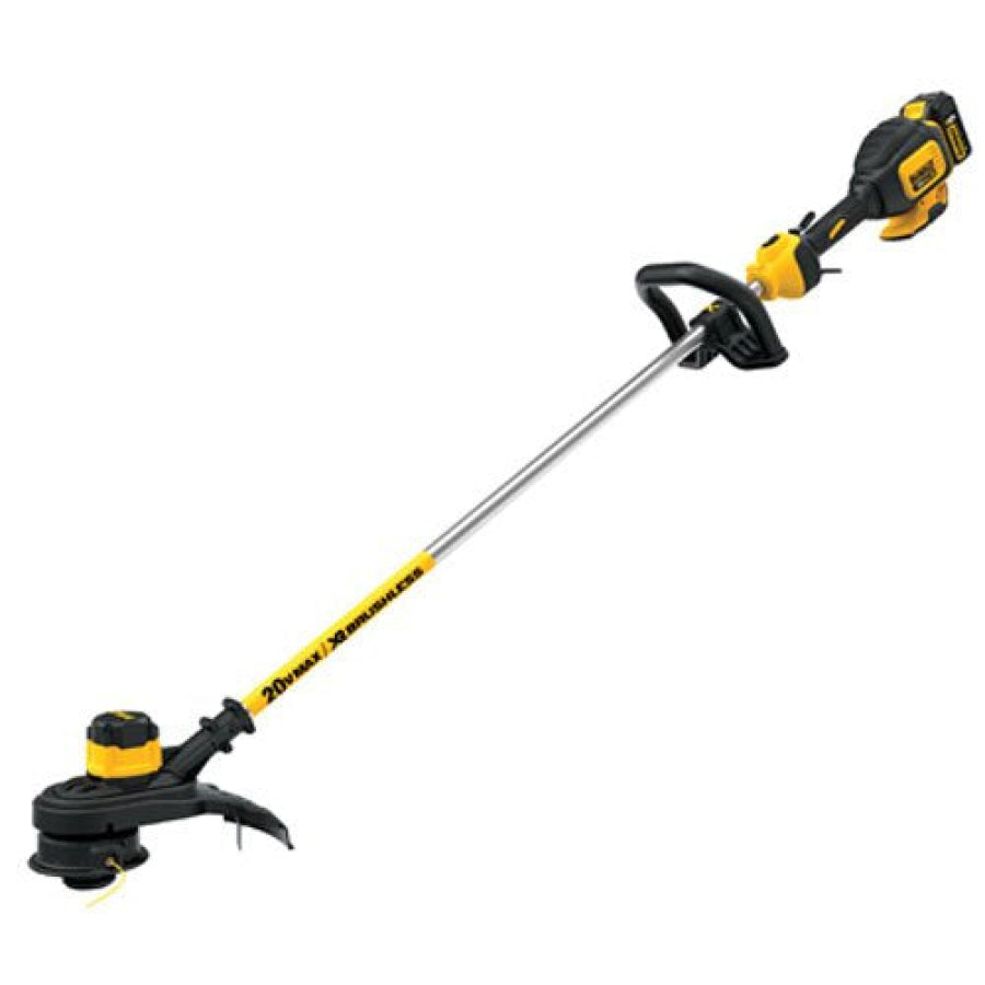DEWALT  DCST920P1 20V MAX 5.0 Ah Lithium Ion XR Brushless String Trimmer Kit