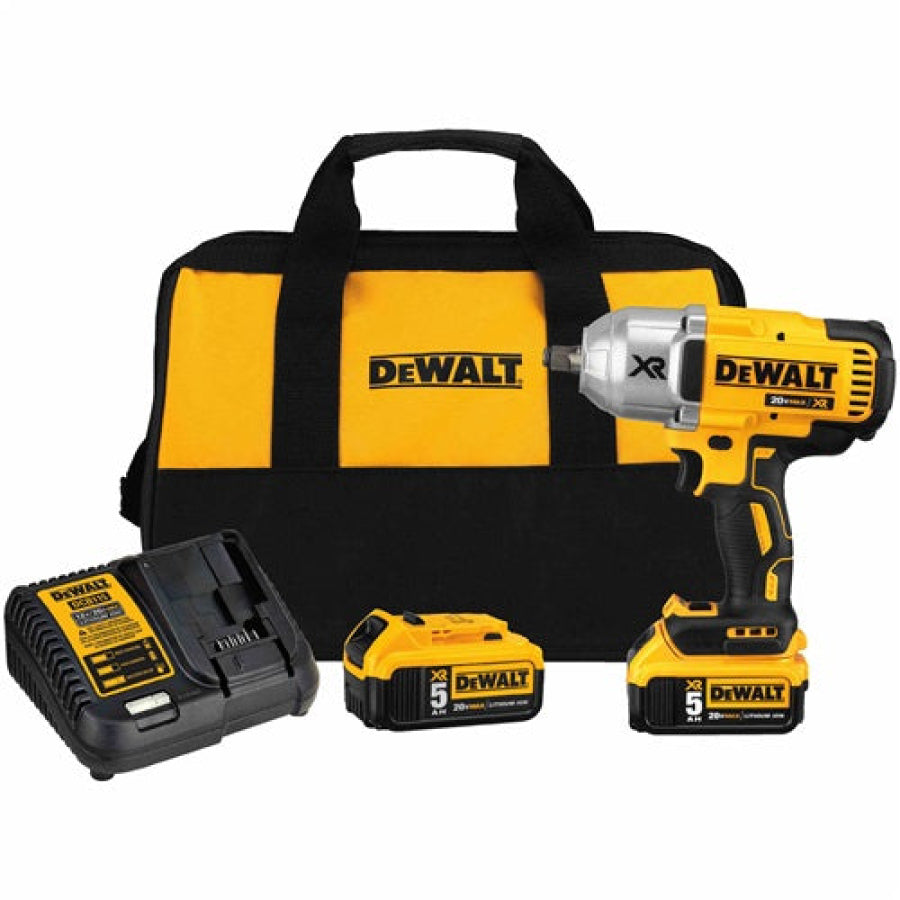 DeWalt 20V XR Li-Ion 1/2 in. Brushless Friction Ring Impact Wrench USA DCF899HP2