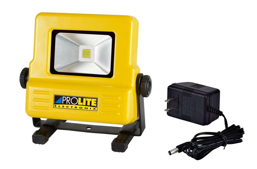 Alert Stamping Pro-Lite 10 Watt COB LED Rechargeable Flood Light LFR10