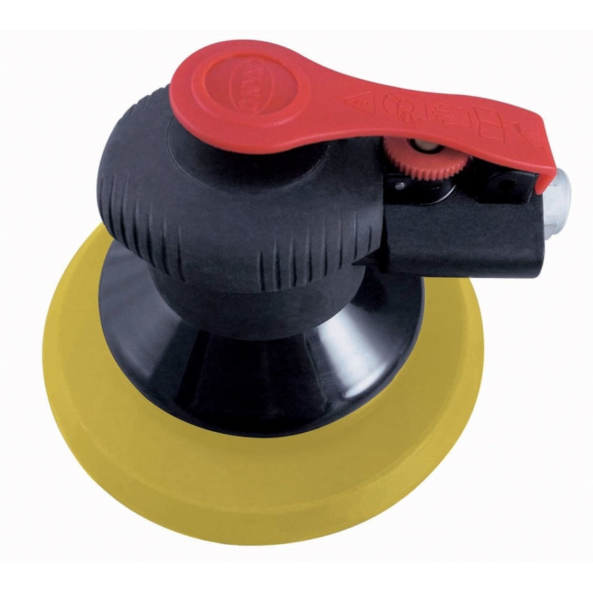"Astro Pneumatic 322P ONYX 6"" Finishing Palm Sander with 6"" PU PSA Backing Pad"