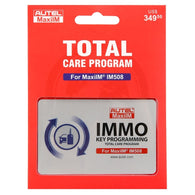 Autel IM5081YRUPDATE IM508 1 Year Update Total Care Program Update Card