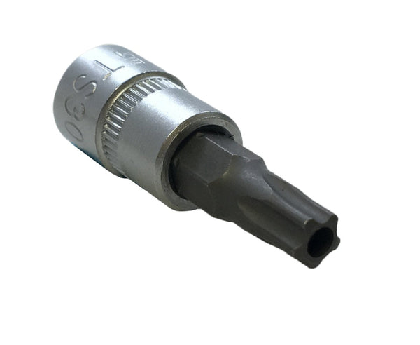 "CTA Tools 9687 1/4"" Drive 5 Point T30 Tamper Proof Torx Socket"