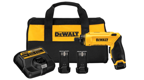 Dewalt DCF680N2 8V MAX Gyroscopic Screwdriver 2 Battery Kit & (1) 8V Max Battery
