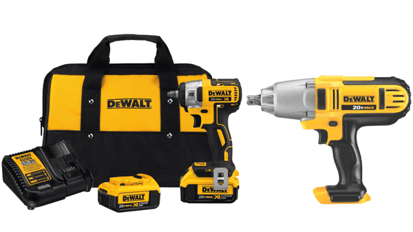 "Dewalt DCF890M2 20V MAX 3/8"" Compact Impact Wrench Kit w/DCF889B Impact Wrench"