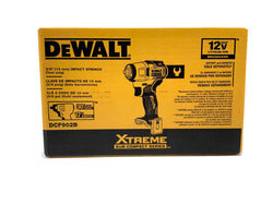 "Dewalt DCF902B XTREME 12V MAX BRUSHLESS 3/8"" Cordless Impact Wrench (Tool Only)"