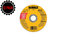 "Dewalt DW8062 4.5"" HP Type 1 Metal Cutting Wheels (12 PACK)"