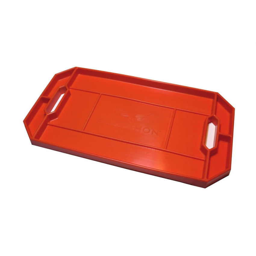 Grypmat CR01S Flexible Non-Slip Large Tool Tray - Bright Orange